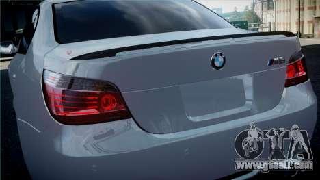 BMW M5 E60 for GTA 4 right view
