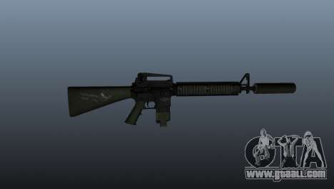 The M16A4 assault rifle for GTA 4 third screenshot