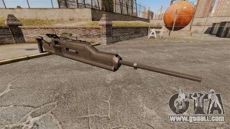Maxim machine gun XM312 for GTA 4