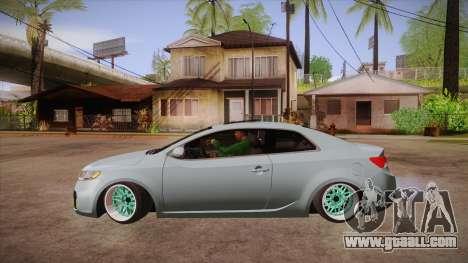 Kia Cerato for GTA San Andreas left view