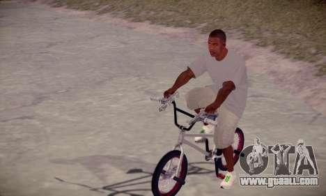 Franklin HD for GTA San Andreas second screenshot