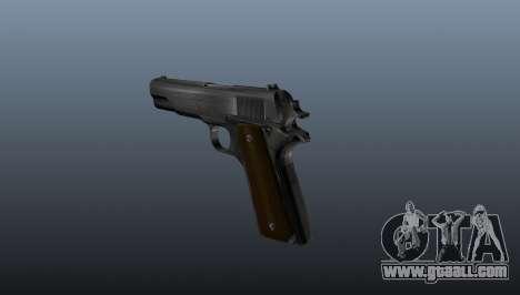 Colt M1911 Pistol for GTA 4 second screenshot
