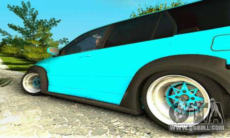 Mitsubishi Evo IX Wagon S-Tuning for GTA San Andreas back left view
