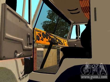 KAMAZ 5410 for GTA San Andreas back view