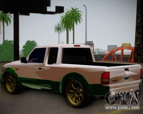 Ford Ranger 2005 for GTA San Andreas left view