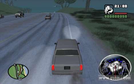 Velocimetro DC Shoes for GTA San Andreas third screenshot