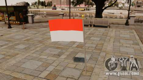 Indonesian flag for GTA 4