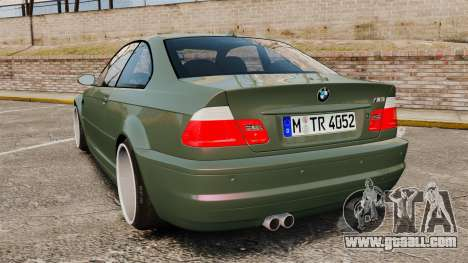 BMW M3 E46 for GTA 4 back left view