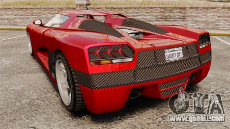 GTA V Overflod Entity XF for GTA 4 back left view
