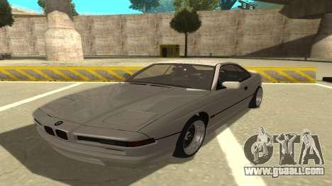 BMW 850CSi 1996 Stock version for GTA San Andreas
