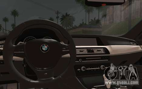 BMW M5 F10 v1 for GTA San Andreas right view