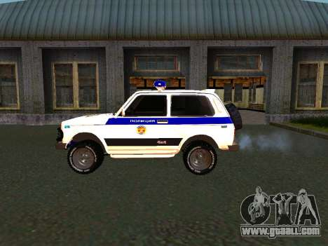 VAZ 212140 Police for GTA San Andreas right view