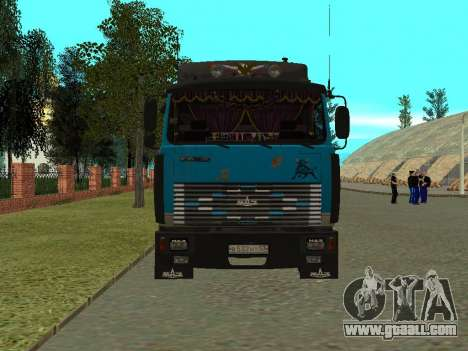 MAZ 54320 for GTA San Andreas left view