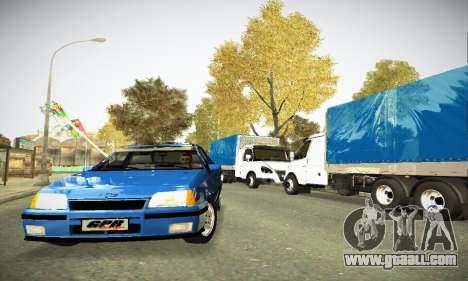 Chevrolet Kadett GS 2.0 for GTA San Andreas back view