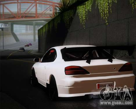 Nissan Silvia S15 JDM for GTA San Andreas inner view
