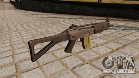 Automatic SIG SG 552 Commando for GTA 4 second screenshot