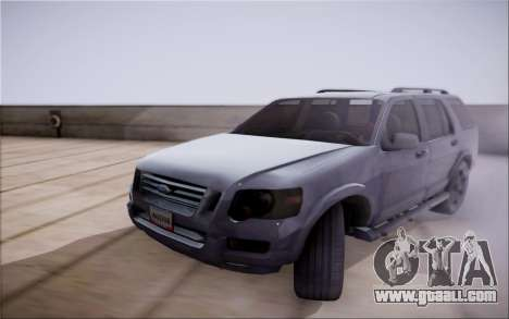 Ford Explorer Eddie Bauer 2011 for GTA San Andreas