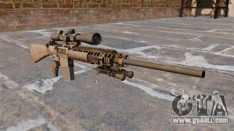 The M110 sniper rifle for GTA 4