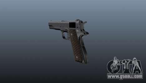 Pistol M1911 for GTA 4 second screenshot