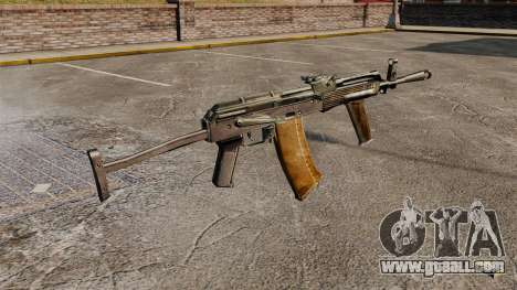 AK-47 v8 for GTA 4 second screenshot