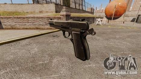 Self-loading pistol Browning Hi-Power for GTA 4 second screenshot
