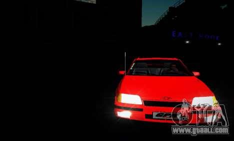 Chevrolet Kadett GS 2.0 for GTA San Andreas inner view