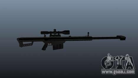 50 sniper rifle-caliber for GTA 4 third screenshot