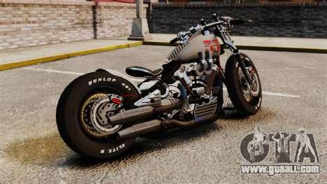 Harley-Davidson Knucklehead v1 for GTA 4 left view