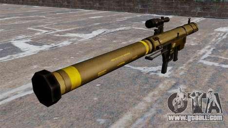Mk153 SMAW shoulder grenade launcher Mod 0 for GTA 4 second screenshot