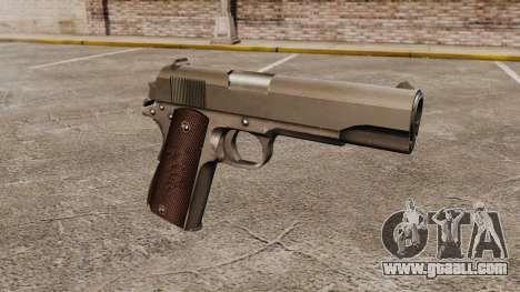 Colt M1911 pistol v5 for GTA 4