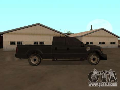 Ford F-350 ATTF for GTA San Andreas left view