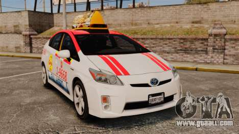 Toyota Prius 2011 Warsaw Taxi v4 for GTA 4