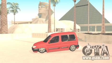 Peugeot Partner for GTA San Andreas left view