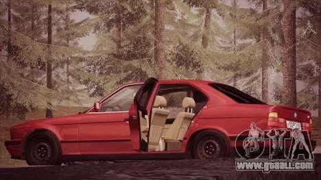 BMW 535i E34 for GTA San Andreas left view