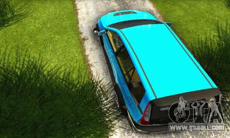 Mitsubishi Evo IX Wagon S-Tuning for GTA San Andreas inner view