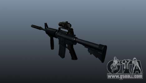 Automatic carbine M4A1 Grip for GTA 4 second screenshot