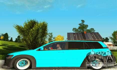 Mitsubishi Evo IX Wagon S-Tuning for GTA San Andreas right view