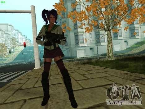 Juliet Starling for GTA San Andreas second screenshot