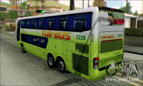 Marcopolo Paradiso G6 Tur-Bus for GTA San Andreas left view