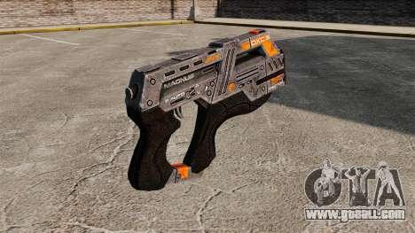 Gun Mass Effect v2 for GTA 4 second screenshot