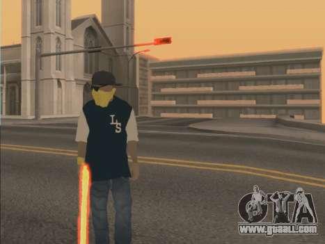 Color Mod for GTA San Andreas second screenshot