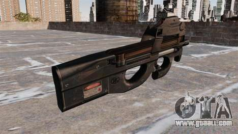 P90 submachine gun for GTA 4 second screenshot