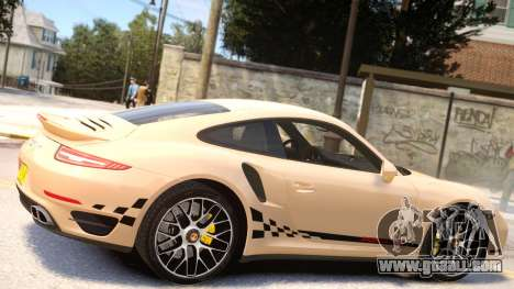 Porsche 911 Turbo 2014 [EPM] for GTA 4 inner view