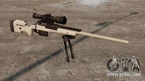 Sniper rifle McMillan TAC-300 for GTA 4