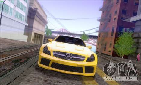 Mercedes-Benz SL65 AMG GB for GTA San Andreas back left view