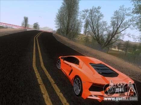 Lamborghini Aventador LP720-4 2013 for GTA San Andreas left view