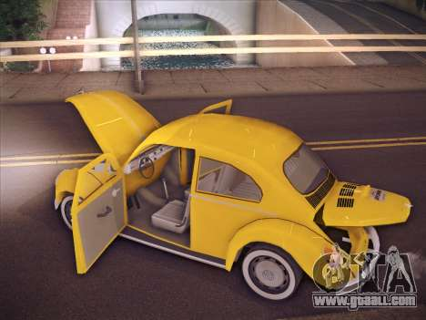 Volkswagen Käfer for GTA San Andreas interior
