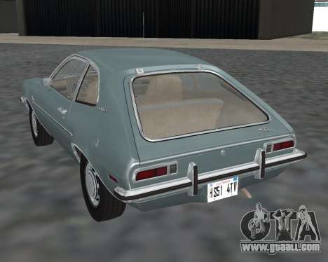 Ford Pinto 1973 for GTA San Andreas left view
