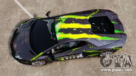 Lamborghini Aventador LP700-4 2012 [EPM] for GTA 4 back left view