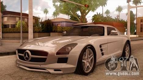 Mercedes-Benz SLS AMG 2010 for GTA San Andreas left view